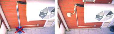 La condensa del condizionatore di casa come eliminarla - Condizionatore perde acqua dentro casa ...